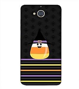 PrintVisa Designer Back Case Cover for Gionee S6 Pro (Cap Ear Mouth Face Joker)