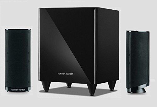 HARMAN KARDON HKTS 2 BQ MKII 2.1 Lautsprechersystem (Harman Kardon Audio-receiver)