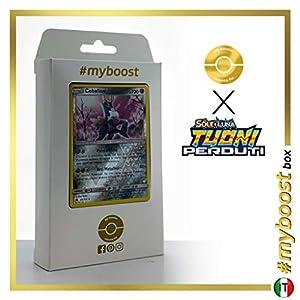 Cobalion 129/214 Holo Reverse - #myboost X Sole E Luna 8 Tuoni Perduti Box de 10 Cartas Pokémon Italiano