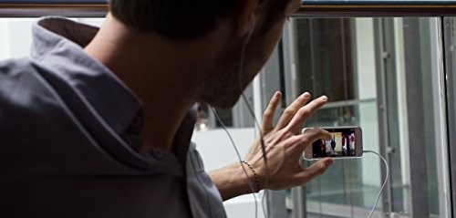 Goo.ey Coque pour Apple iPhone 5/5s aqua citronier