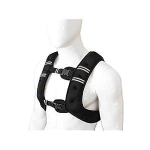 Xn8 Sports Schwarz Gewichtsweste 10,20kg Gewicht Verlust Training Running verstellbar Jacke Abnehmbarer Gewicht Crossfit Gewicht Verlust Trainings Body