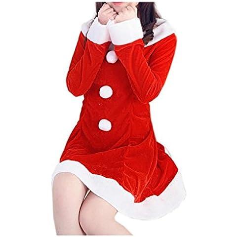 Koly_Le donne costume cute del vestito operato di Natale Ufficio partito Outfit