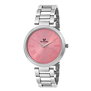 Armado Analogue Pink Dial Girl's Watch (Pnk-Ar-01)