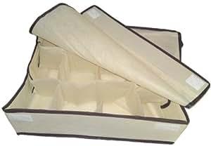 textil organizer 12 f cher sockenorganizer socken. Black Bedroom Furniture Sets. Home Design Ideas