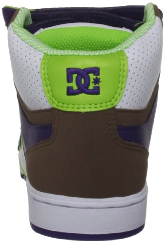 DC Shoes  Ctas Speciality, baskets - skateboard femme - white soft lime