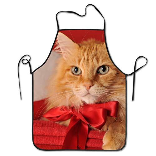 Rasyko Schürze für Katzen, Koch, Backen, Basteln, Garten und Grill (Bärte Verkauf Zum)