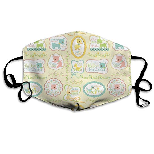 My Deer My Darling Sweet Signs Anti Dust Mask Anti Pollution Washable Reusable Mouth Masks