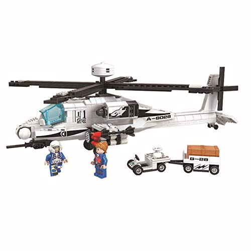 Yyz Technologie-Serie Assembled Building Toys Boy Thunder Air Force Series Apache Helicopter Birthday Gift - Air Force Serie