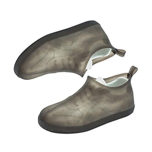Demarkt Unisex Regenüberschuhe Anti-Rutsch Schuhüberzieher, überschuhe überzieher Schuhüberzieher Shoe Cover Hülle, Für die meisten Erwachsenen Size XXL