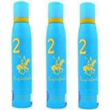 Beverly Hills Polo Club 2 Fragrance Spray For Women Set Of 3