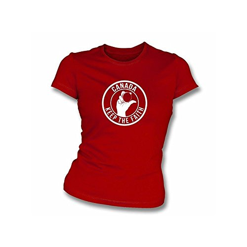 TshirtGrill Beurteilen Sie nie einen Mann durch sein T-Shirt Mädchen slimfit T-Shirt, Farbe- Brown