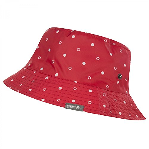 Regatta Womens/Ladies Pablo Printed Showerproof Summer Bucket Hat Lollip Polka