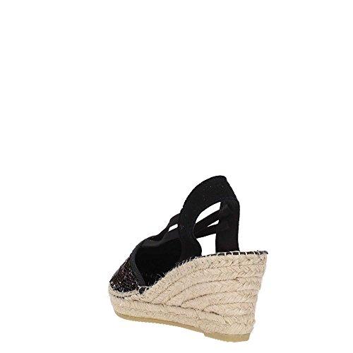 Vidorreta 18400 Sandal Femme Black