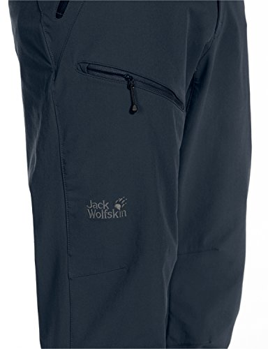 Jack Wolfskin Herren Softshellhose Activate Night Blue