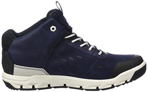 Caterpillar Herren Parched Gore-tex Hohe Sneakers Blau (mens Blu Profondità)