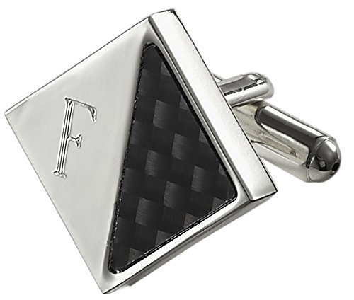 visol-moretti-personalized-carbon-fiber-and-silver-plated-cufflinks-with-engraved-letter-f-by-visol