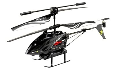 Camera equipped with Aerial and radio control helicopter Black Eye video shooting night-vision compatible high-quality dedicated multi-function remote control multi-function equipment