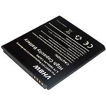 vhbw 1900mAh (3.7V) Li-Ion Akku für Smartphone Telefon Handy Huawei Ascend W1, W1-C00, W1-U00, Y300, Y300-0100, Y300-0151 wie HB5VI, HB5VIH, HB5VIHV.