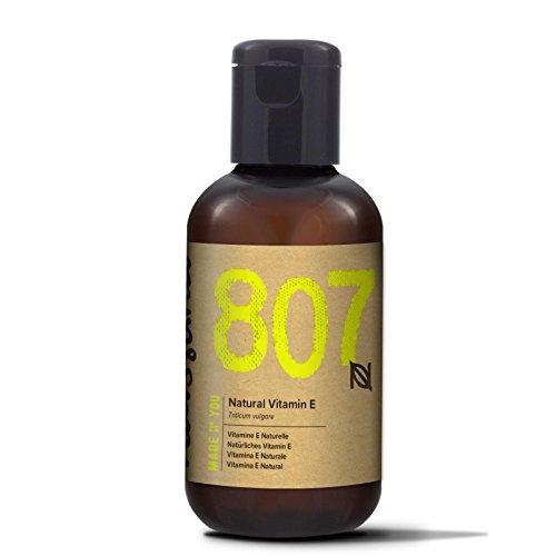 Naissance Natürliches Vitamin E Öl - Tocopherol 60ml 100% rein (Tocopherol Vitamin E-acetat)