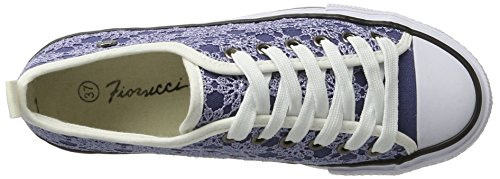 Fiorucci Fepa002, chaussons d'intérieur femme Bleu