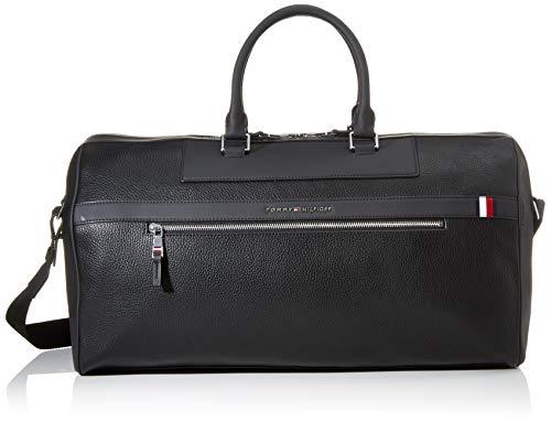 Tommy Hilfiger Herren Th Downtown Duffle Business Tasche, Schwarz (Black), 1x1x1 cm