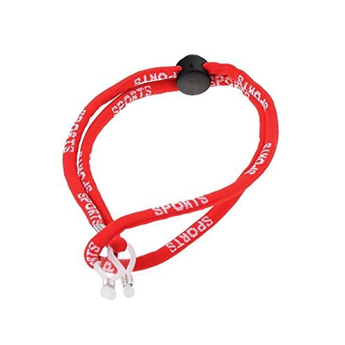 Sunronal Basketball Fußball Sport Anti-Fallen Herausfallen Resistant Brille Seil Brille Rutschfestes Seil