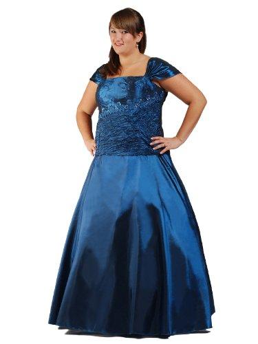 Austen - 1060 Abendkleid 1tlg Blau Gr.46/48