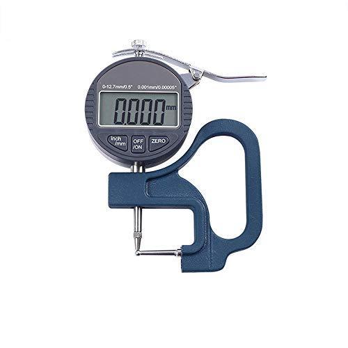 LIGHTOP Digital Fühlerlehre Dickenmessgerät Dickenmesser Digital Dial Indicator Messgerät Zifferblatt für Stahlrohr Aluminiumrohr Stroh Dickenmessung