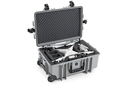 Top B&W outdoor.cases type 6700 with DJI Phantom 4 Inlay – The Original