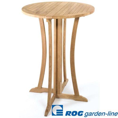 ROG garden-line TL8120: TEAK BAR-TISCH GIN FIZZ 90