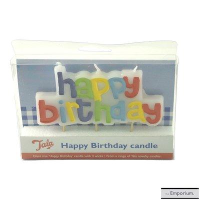 Tala Happy Birthday Candle from Tala