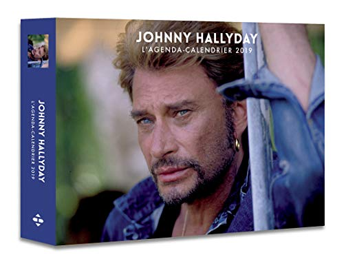 L'agenda-calendrier Johnny Hallyday 2019