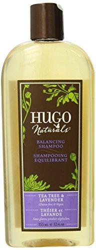 Balancing Shampoo, Tea Tree Lavendel, 12 Flüssigunzen (355 ml) - Hugo Naturals - Tea Tree Balancing Shampoo