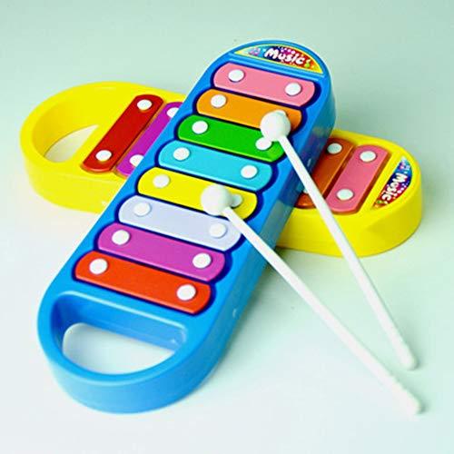 Kunststoff Kinder Acht Skala Hand Klopfen Klavier Spielzeug Beat Xylophon Vorschulerziehung Musikinstrumente