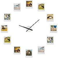 Froster Reloj Impressions – Reloj con Marco de Fotos, múltiples Aperturas, Collage de Fotos