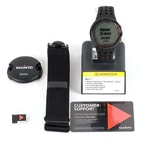 Suunto M5 MEN PACK SS018260000 Orologio Fitness Uomo Monitoraggio Frequenza Cardiaca + Fascia Cardio, Funzioni Cardiofrequenzimetro Avanzate, Resistente all'Acqua fino a 30 m, Nero