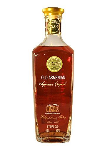 """Armenischer Brandy """"Old Armenian"""", 0,5L, 40% Alk., 8 Jahre gereift"""