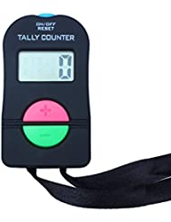 Ewin24 Digital Hand Tally Counter Electronic Manual Clicker Add/Subtract Model For Golf Sports by ewinever