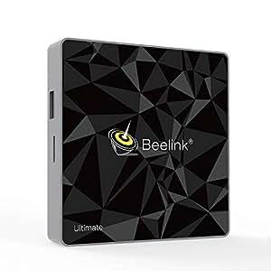 Beelink GT1 Ultimate TV Box DDR4 3GB/32GB Amlogic 912 Octa Core Dual Wifi 2.4G+5.8G BT4.0 1000Mbps LAN Android 7.1 4K Smart TV Box