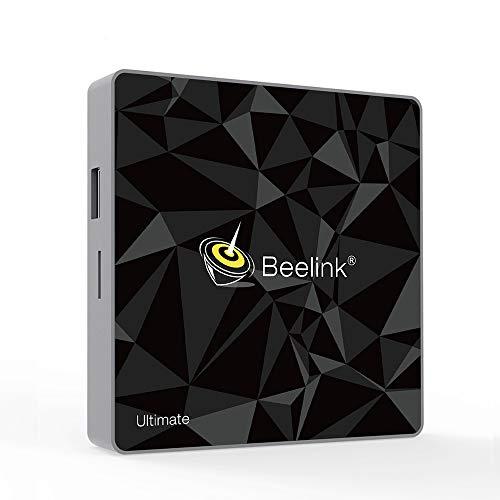 Beelink GT1 Ultimate TV Box DDR4 3GB/32GB Amlogic 912 Octa Core Dual WiFi 2.4G+5.8G BT4.0 1000Mbps LAN Android 7.1 4K Smart TV Box Mit Fernbedienung