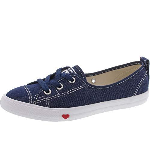 Converse 563493C Ballet Lace Slip Sneaker Dunkelblau Converse Sneakers Slip