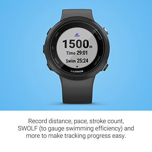 Garmin Swim 2 - Reloj inteligente, color gris