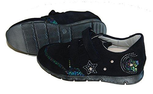 Helgas Modewelt , Baskets pour fille marine (Turino ozean)