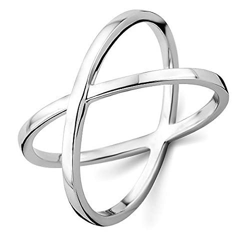 Miore Damen Sterling Silber (925) Designer Ring