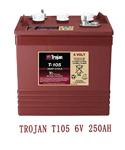 Baterias Monoblock Trojan T1056V 250Ah Solar Panel Battery 250Ah