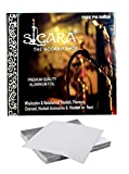 SIGARA-The Hookah Shop- Silver Hookah Foil Papers/Aluminium Foil for Hookah/Shisha 50Pc.