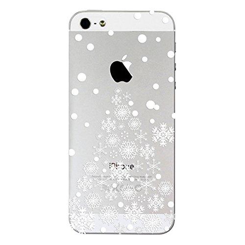 TPU Custodia per iPhone 7 Cover ZCRO Trasparente con Disegni TPU