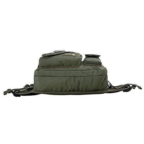 wewod impermeabile multi da borsa cintura in Nylon, verde verde