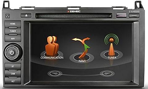 ZENEC Z-E4626 Naviceiver mit GPS Navigation für Caravan zur Nachrüstung für Mercedes Sprinter Viano Vito + passgenauer Einbau + Autoradio mit Multituner System für störungsfreien Empfang von FM, DAB+ und TMC + Reisemobil Navi Software iGO Primo NextGen mit EU-Kartenpaket für 47 Länder + 1 Jahr Kartenupdate kostenlos + 8