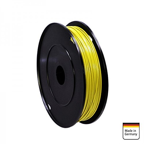 AMPIRE Installationskabel gelb 1mm², 120m Rolle, Kupfer